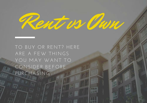 Renting Versus Buying a Home in Ottawa, Ontario
